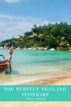 The Perfect Thailand Itinerary