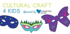 Download our Brazilian Mask template at http://aupairbuzz.culturalcare.com/cultural-crafts-for-kids-brazilian-carnival-mask/