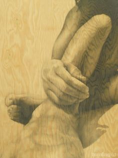 Knee Deep by San Diego artist Michelle Ferrera.