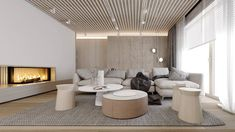 Living Spaces, Conference Room, Divider, Lounge, Interior Design, Interiors, Table, Furniture, Kitchens