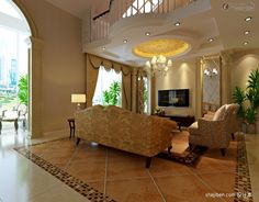 Living Room Floor Tiles Design Effect Picture Of European Style