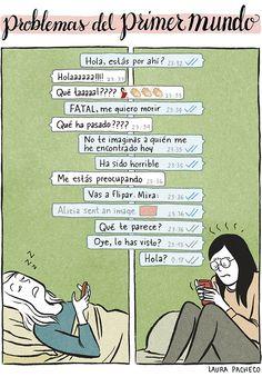 Problemas del primer mundo: WhatsApp