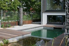 Natur-Pool-Anlage in Ludwigsburg. Foto: Lauterwasser GmbH