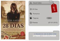 Livros e marcadores: 28 Dias de David Safier