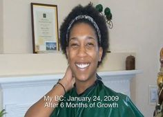 Whitney's Big Chop 5 Years ago
