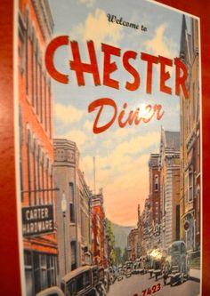 Chester Diner, rte 206 Chester, NJ