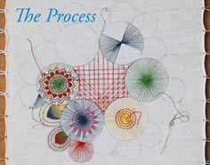The Process of Nanduti lacemaking