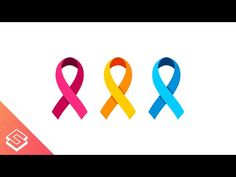 Inkscape Tutorial: Vector Awareness Ribbon - YouTube