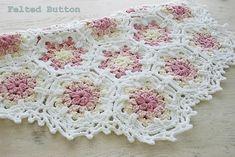 Ravelry: Vintage Fleur Blanket by Susan Carlson
