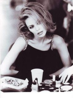 Kylie Minogue - she's beautiful with talent, style and smarts. In my next life...would love to evolve into this.