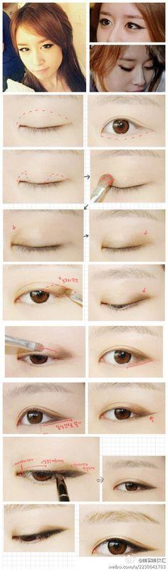 T-ara Korean Eye Make up