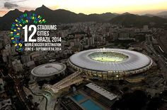 12 Stadiums x 12 Cities Exhibit - Fifa World Cup Brazil - Coral Gables Museum