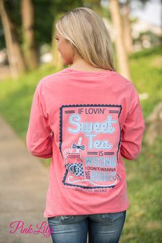 Jadelynn Brooke Sweet Tea Long Sleeve Tee