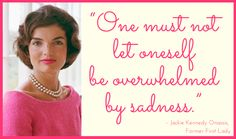 Jackie Kennedy Quote for Today's Good Morning Motivation! Jackie Kennedy Quotes, Jacqueline Kennedy Onassis, Pearl Quotes, Classy Women Quotes, Good Morning Motivation, Jaqueline Kennedy, Today Quotes, Words Of Wisdom Quotes, Funny Pictures With Captions