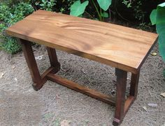 mr2  Deco Style Solid Honduras Mahogany Table Stained or Natural