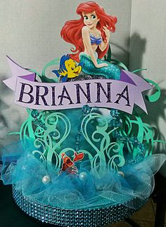 Little Mermaid centerpiece 2 by Gwendolyn Calderon with Miabella Creationz