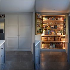 67 Ideas For Kitchen Paint Walls Warm Farrow Ball Kitchen Wall Shelves, Wall Shelf Decor, Kitchen Cabinet Styles, Painting Kitchen Cabinets, Kitchen Paint, Kitchen Storage, Food Storage, Cheap Kitchen Makeover, Kitchen On A Budget