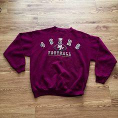 Vintage San Francisco 49ers Crewneck Sweatshirt by VNTGvault on Etsy