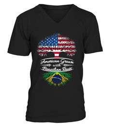 # American grown with Brazilian R 260 .  American grown with Brazilian RootsTags: America, American, Brazil, Brazil, flag, shirts, Brazilian, US, flag, patriots, usa