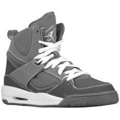 the best attitude 37b71 eff3b Jordan Flight 45 High - Boys  Grade School - Basketball - Shoes - Cool  Grey White