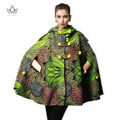 African Print Batik Cape