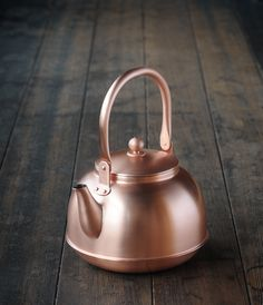 copper kettle. My grandmother had one that she would let me polish and I felt so helpful.
