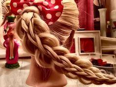 Stacked Braid Tutorial - Cute Hairstyles - Easy Hairstyles Long Hair - C...