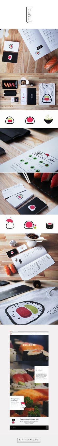 Nara Japanese by Nuria Madrid on Behance | Fivestar Branding – Design and Branding Agency & Inspiration Gallery