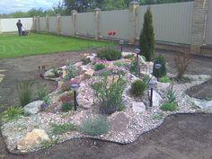 bildergebnis für steingarten anlegen anleitung vlies | steingarten, Garten und Bauen