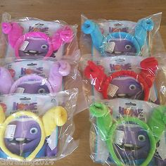 Dreamworks Home Boov Mood Ears - Wear Your Daily Mood Brand New in Toys & Games, TV & Film Character Toys, Film & Disney Characters | eBay
