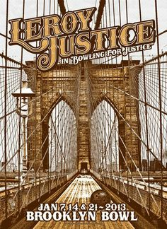 GigPosters.com - Leroy Justice