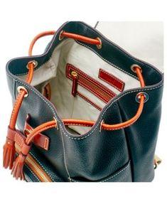 03ba8a566248 Dooney   Bourke Oakland Raiders Pebble Murphy Backpack - Black Backpack  Online