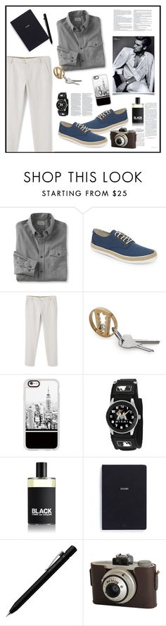 """""""Forever"""" by biange ❤ liked on Polyvore featuring L.L.Bean, Original Penguin, MANGO MAN, Casetify, Game Time, Comme des Garçons, Faber-Castell, Dolce&Gabbana, men's fashion and menswear"""