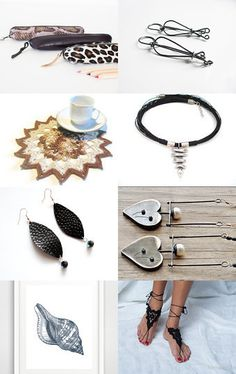 Neutral Beauties by Julia on Etsy--Pinned with TreasuryPin.com