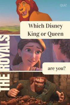 Over the years, we have gotten to know many Disney royal families, some we love more than others. But which Disney king or queen do you think you'd be?