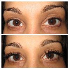 Individual Eyelash Extensions By Ada Length Fullness Added