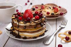 Clătite americane: Ingredientul care le face pufoase. Rețeta Pancake Designs, Crepes, Tiramisu, Pancakes, Brunch, Sugar, Breakfast, Ethnic Recipes, Sweet
