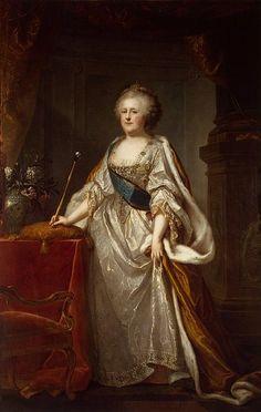 Johann-Baptist I Lampi Portrait of Catherine II (Catherine the Great) 1794