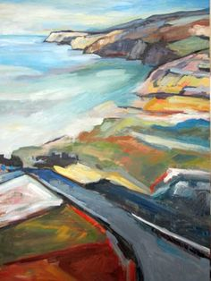 Rodeo Beach, Kim Kitz at Donna Seager Gallery