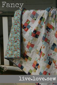 Fancy: A Jelly Roll Lap Quilt