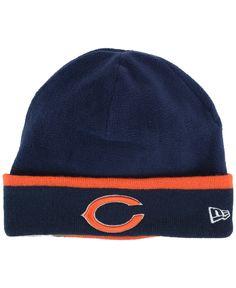 b51273930 New Era Chicago Bears Tech Knit Hat Knit Hat For Men