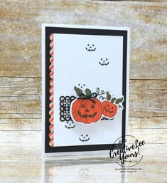 Halloween Pumpkin by Wendy Lee, September 2020 Paper Pumpkin Kit, Hello Pumpkin, stampin up, handmade cards, rubber stamps, stamping, kit, subscription, #creativeleeyours, creatively yours, creative-lee yours, celebration, thank you, birthday, pumpkin, witch hat, cats, flowers, congrats, alternate, bonus tutorial, fast & easy, DIY, card kit, subscription, craft kit, #papercrafts , #papercraft , #papercrafting , #papercraftingsupplies, #papercraftingisfun, #makeacardsendacard… Fall Pumpkins, Halloween Pumpkins, Fall Halloween, Halloween 2020, Send A Card, Fall Projects, Paper Pumpkin, Card Kit, Halloween Cards