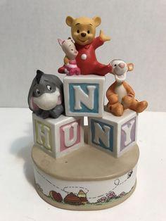 Disney Music Box Winnie The Pooh & Tigger Baby Honey Theme Song #Disney