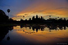 cool Angkor Wat Sunrise - Siem Reap