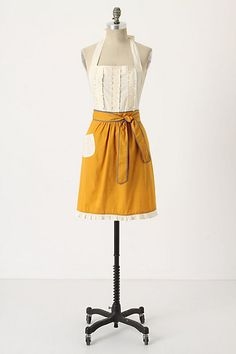 tea-and-crumpets apron, $34.00