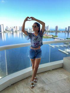 Look fresquinho para enfrentar o calor de Miami!