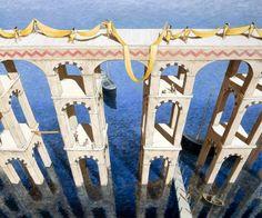 Michiel Schrijver, 1957 | Surreal architecture painter | Tutt'Art@ | Pittura * Scultura * Poesia * Musica |