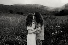 Blue Ridge Parkway, Blue Ridge Mountains, Mountain Engagement Photos, Over The Hill, First Dates, Asheville, Mists, Photoshoot, Couple Photos