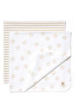 Wickeltuch und Babyausstattung - Schöne Moltontücher für Babys
