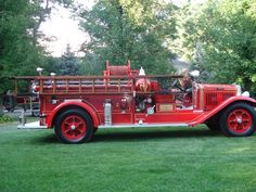1931 Mack Fire Engine